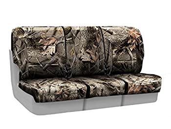 Coverking Front 40/20/40 Custom Fit Seat Cover for Select RAM Models - Neosupreme (Realtree Hardwoods Camo Solid)