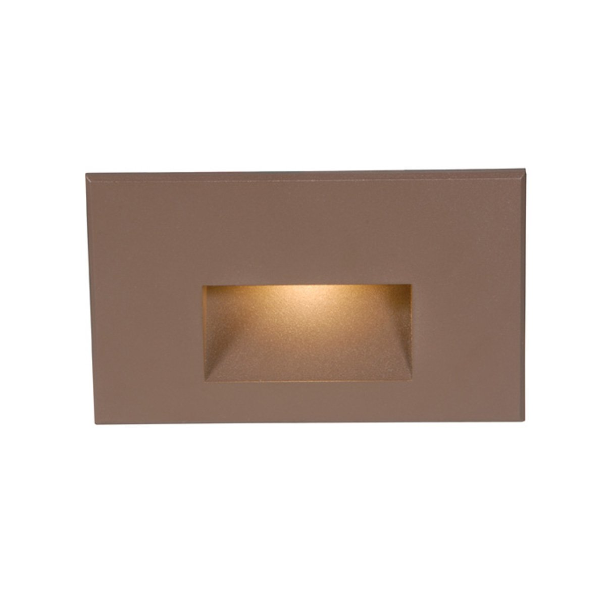 WAC Lighting WL-LED100-C-BZ LED Step Light Rectangular Scoop