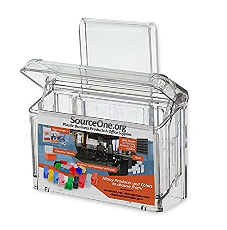 Amazon source one outdoor business card holder with window source one outdoor business card holder with window hook o bc hook colourmoves Gallery