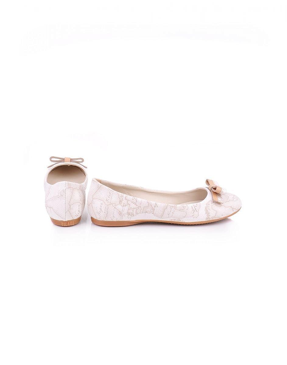 1classe Damen Damen Damen Ballerinas Weiß weiß No 1be861