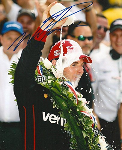 Will Power Autographed Photo - 8x10 INDY 500 TROPHY MILK IRL INDY COA A - Autographed NASCAR Photos ()