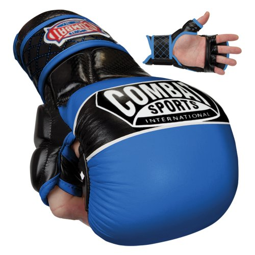 Combat Sports Max Strike MMA Training Gloves (White, Large)