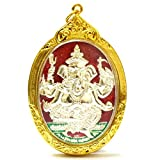 Ganesha Statue an Elephant God Hidu Thai Amulet Tow Maha Prom 4 faces Success Win All Obstacle Pendant