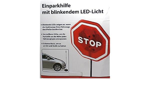 LED Asistente de aparcamiento Stop Cartel con LED de ...