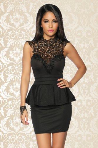 Unbekannt - Vestido - para mujer Negro negro 40