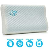Gel Memory Foam Pillow - Comfortable Cooling Pillow Neck Pain - Cervical Support