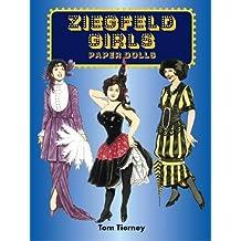 Ziegfeld Girls Paper Dolls