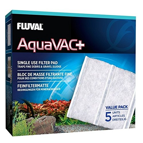 Fluval 11067 5 Piece AquaVac Plus Fine Filter -