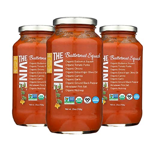 The Vine Butternut Marinara, Low Sodium, 3-pack
