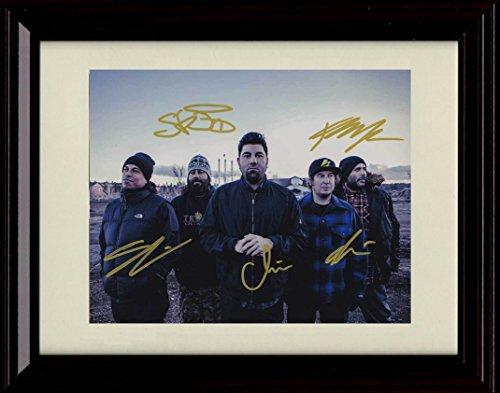 - Framed Deftones Autograph Replica Print - Gore