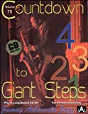 Vol. 75, Countdown To Giant Steps (Book & CD Set) (Play- a-Long)