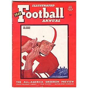 1949 Illustrated Football Annual Magazine Jim Owns Oklahoma 130630
