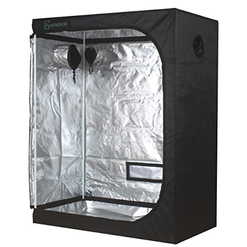 "51LgKIiKyqL - Growsun 48""x24""x60"" Horticulture Grow Tent for Indoor Plant Growing Tents Mylar Hydroponic Grow Room"
