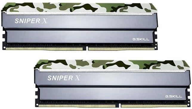 G.SKILL 32GB (2 x 16GB) Sniper X Series DDR4 PC4-25600 3200MHz Intel X299 / Z370 / Z270 / Z170 Desktop Memory Model F4-3200C16D-32GSXFB
