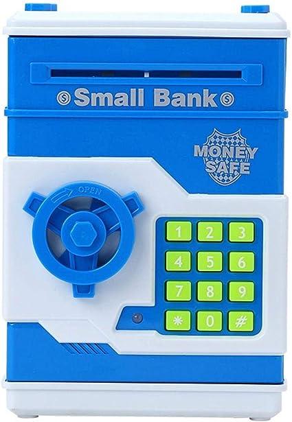 Hucha Caja Fuerte de Dinero para niños Moneda Digital Ahorro de ...