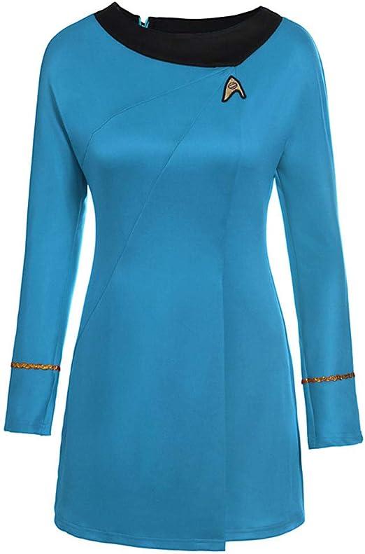 MINGZUO Star Trek Suit Tos Uniform para Mujer(L): Amazon.es ...
