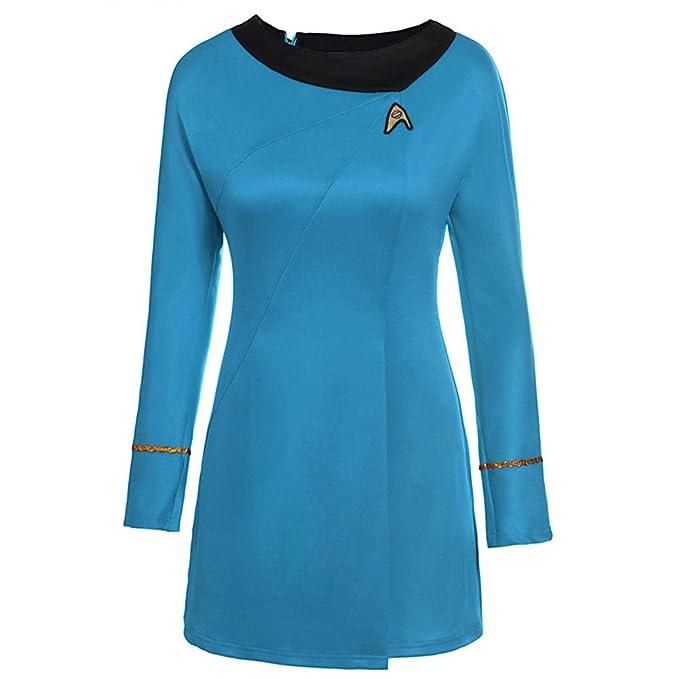 Star Trek Cosplay Costume Falda Vestido de Uniforme para ...