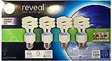 GE Reveal Spiral CFL 20-Watt