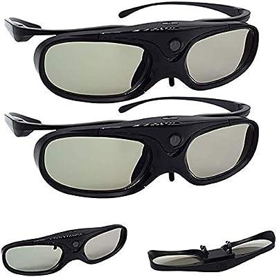 NAB325 Clip de anteojos Recargables con Obturador Activo de Gafas ...