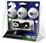Alabama Birmingham Blazers NCAA 3 Golf Ball Gift Pack w/ Spring Action Divot Tool