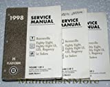 1998 Pontiac Bonneville, Oldsmobile Eighty Eight, LSS, Regency, Buick Le Sabre Service Manuals (GM H Platform, 3 Volume Complete Set)