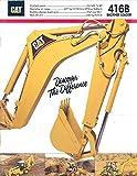 1993 Caterpillar 416B Construction Loader Brochure