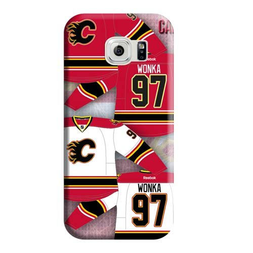 fan products of Mobile Phone Carrying Covers Shockproof Hot Fashion Design Cases Calgary Flames Protection Samsung Galaxy S6 Edge