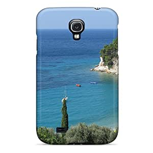 New Style Tpu S4 Protective Case Cover/ Galaxy Case - Paradise Beach 2