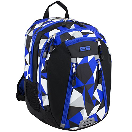 eastsport-sport-backpack-for-school-hiking-travel-climbing-camping-outdoors-blue-geo-print