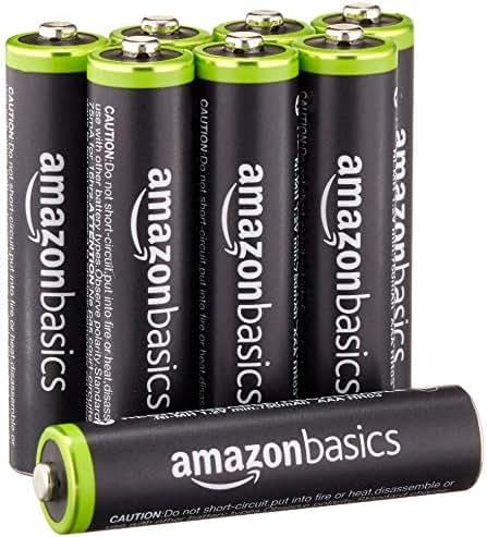 Batteries: AmazonBasics (Renewed)