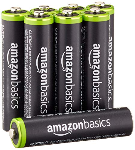 - AmazonBasics AAA Rechargeable Batteries (8-Pack) Pre-charged - Packaging May Vary (Renewed)