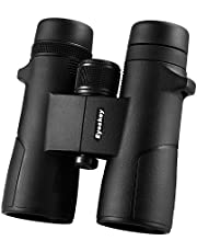 Eyeskey HD 10x42 Hunter Binoculars for Adults | Close Focus | Wider Field of View | Crystal Images | Waterproof Fog-proof | Quality Binos for Huning Outdoor Nature Watching Game Events … (8X42)