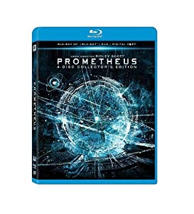 Cover Image for 'Prometheus (Blu-ray 3D/ Blu-ray/ DVD/ Digital Copy)'