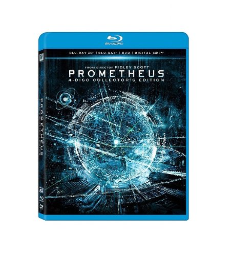Prometheus (Blu-ray 3D/ Blu-ray/ DVD/ Digital Copy)