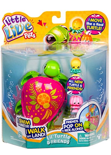 Little Live Pets S6 Single Pack-Fruity The Fruit Turtle Childrens Toy ()