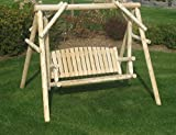 Best  - Bestar White Cedar Patio Swing Review
