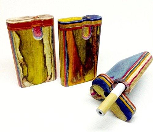 Handmade Wooden Cigarette Case  Box – (Complete Kit) (3.5)