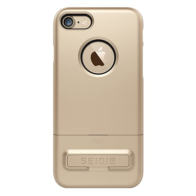 7e20e69822f Image Unavailable. Image not available for. Color: Seido Surface Case for Apple  iPhone 7 - Gold/Black