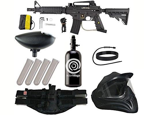 Action Village Tippmann US Army Alpha Black Elite Tactical L