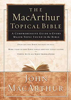 MacArthur Topical Bible Comprehensive Guide ebook product image