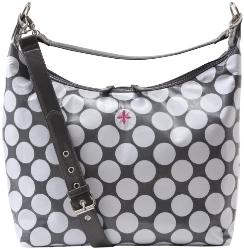 Jp Lizzy Baby Bag - JP Lizzy Hobo Diaper Bag - Glazed Polka Dot