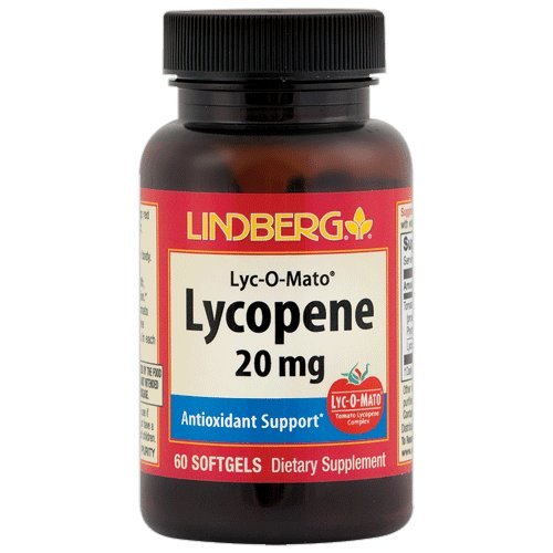 Lindberg Lycopene 20 mg -- from Lyc-O-Mato® Tomato Complex -- Provides Antioxidant Support* by LINDBERG