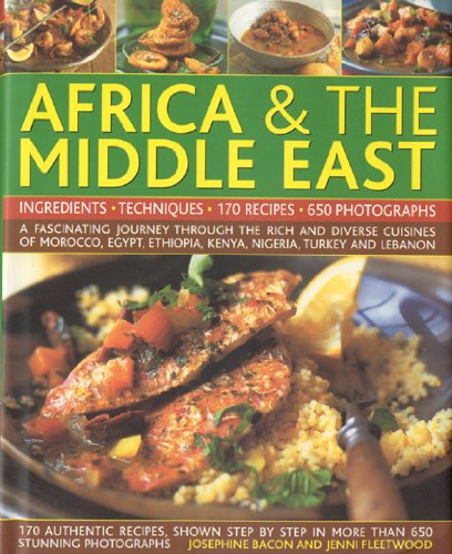 Illustrated Food & Cooking of Africa and Middle East by Josephine Bacon, Jenni Fleetwood