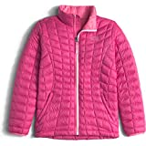 The North Face Girls Thermoball Full Zip Jacket Size Medium 10/12 Cabaret Pink