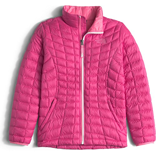 The North Face Girls Thermoball Full Zip Jacket Size Medium 10/12 Cabaret Pink by The North Face