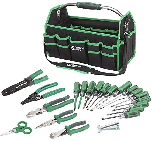22-Piece Electrician's Tool Set-DISCONTINUED (Commercial Electric Tools)