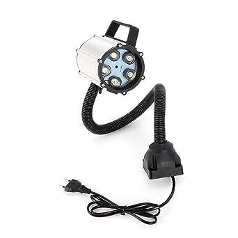 RANZIX - Lámpara LED para torno de máquina (5 W, 110-220 V ...