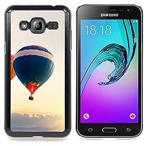 SKCASE Center / Funda Carcasa protectora - Globo aerostático;;;;;;;; - Samsung Galaxy J3 GSM-J300