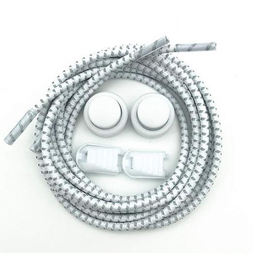LARRY SHELL No Tie Shoelaces | Cordones elásticos sin Corbata para ...