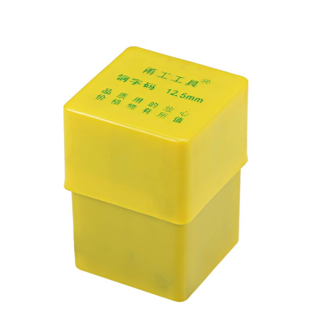 Conjunto de punzones de sello de letras y n/úmeros de 36 piezas Trabajo de acero endurecido en superficies de cuero de madera y metal